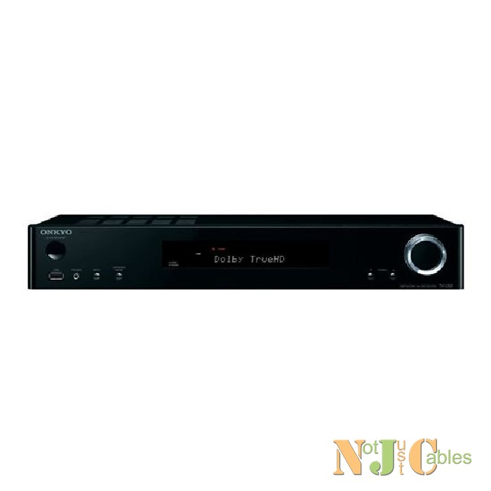 ONKYO 5.1 Channel Slim AV Receiver Black